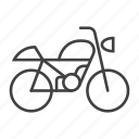 bike, moto, motorbike, motorcycle, transport, transportation, vehicle icon