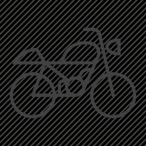 Bike, moto, motorbike, motorcycle, transport, transportation, vehicle icon - Download on Iconfinder