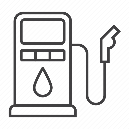 Car, gas, gasoline, oil, petrol, pump, station icon - Download on Iconfinder