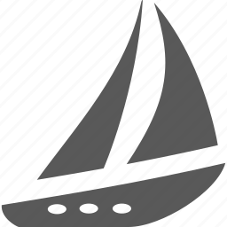 luxury, sailing, transportation, yacht icon