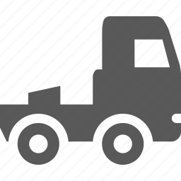 auto, tractor, transportation, truck, truck tractor icon