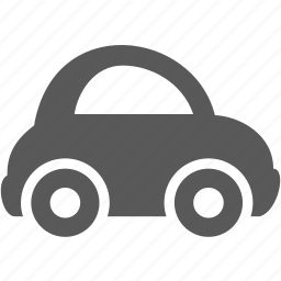 aotu, car, small car, transportation, wheel icon