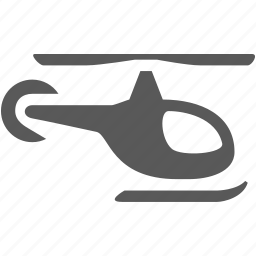 fly, flying, helicopter, propeller, transportation icon