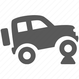 car, jeep, off, offroad, road, transportation, wheel icon