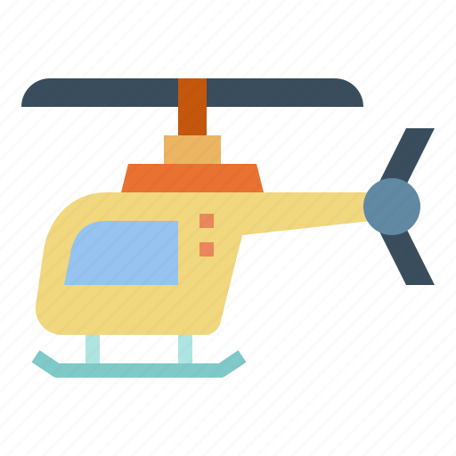 Aircraft, helicopter, plane, transportation icon - Download on Iconfinder