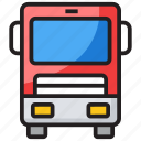 autobus, bus, charabanc, coach, local transport, public transport, vehicle icon