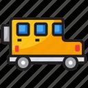 automobile, car, front view jeep, jeep, quadro, transportation icon