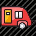 camper van, conveyance, transport, vanity van, volkswagen icon