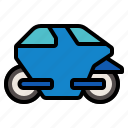 autocycle, automobile, car, electric, transport icon