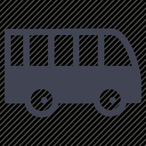 bus, public, transport, transportation, vehicle icon