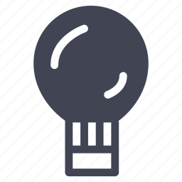 air, balloon, hot, transport, transportation, trip, vehicle icon