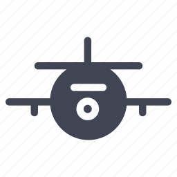 aeroplane, air, airplane, plane, transport, transportation icon