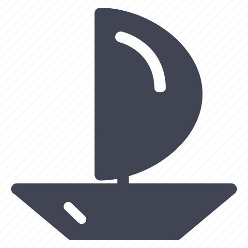boat, delivery, sailing, transport, transportation, vehicle icon