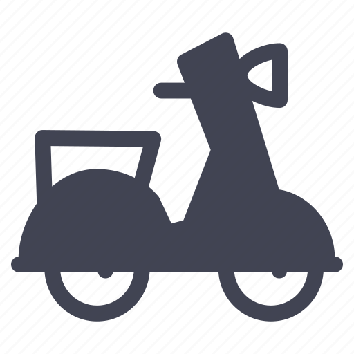delivery, scooter, transport, transportation, vehicle icon