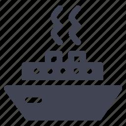 marine, ship, transport, transportation, vehicle, yacht icon
