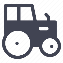 farm, tractor, transport, transportation, vehicle icon