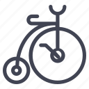 bicycle, bike, transport, transportation, vintage icon