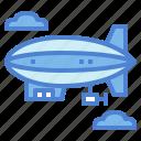 aircraft, flying, hydrogen, zeppelin