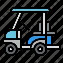 transportation, vehicle, transport, golf, cart icon
