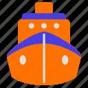 car, sea, ship, traffic, transport, transportation, travel icon