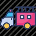 fire, fire engine, firefighters, help truck, transport, transportation, truck