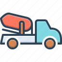 architecture, cement, cement truck, construction, machine, truck, vehicle