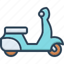 motorbikes, old, scooter, scooti, speed, transport, vehicle