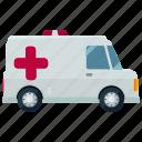 ambulance, health, medical, transportation, emergency, vehicle