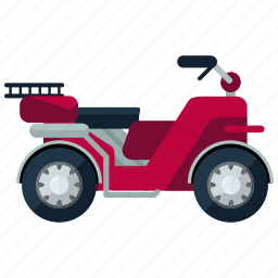 far, motorcycle, transport, transportation, travel, vehicle icon