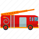 fire, truck, transportation, transport, vehicle