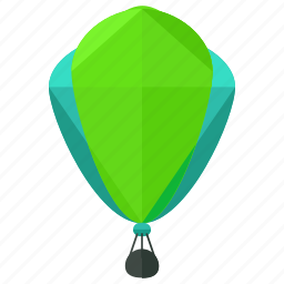 air, balloon, hot, transport, transportation, travel, vehicle icon