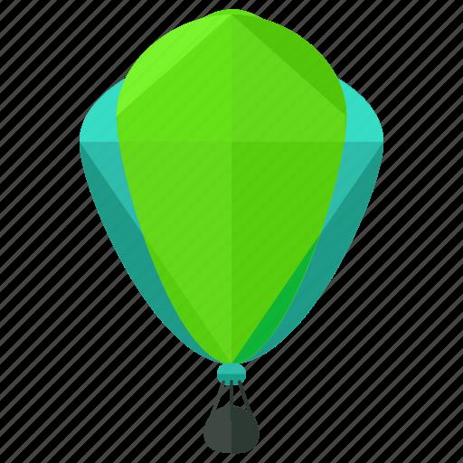 air, balloon, hot, transport, transportation, travel, vehicle icon