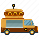delivery, hotdog, transport, transportation, truck, vehicle icon