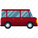 hunchback, transport, transportation, travel, van, vehicle icon