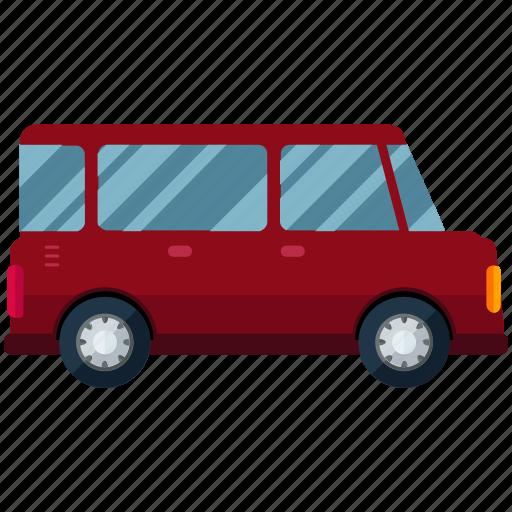 hunchback, transport, transportation, travel, van, vehicle icon