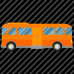 bus, transport, transportation, travel, vehicle icon