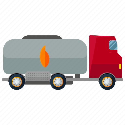 gasoline, transport, transportation, travel, truck, vehicle icon