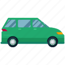 transport, transportation, travel, van, vehicle icon