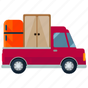 delivery, moving, pick, transport, transportation, truck, vehicle icon