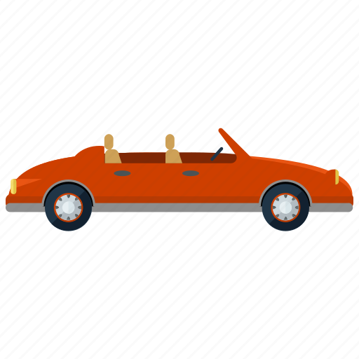 car, open, roof, transport, transportation, travel, vehicle icon