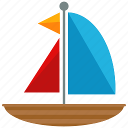 boat, sailing, transport, transportation, travel, vehicle icon