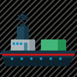 boat, cruise, ship, transport, transportation, travel icon