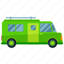 caravan, station, transport, transportation, travel, vehicle, wagon icon