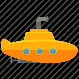 ship, submarine, transport, transportation, travel, vehicle icon