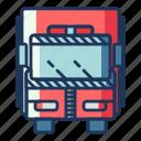 fire, truck, transportation, car, vehicle