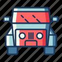 jeep, car, vehicle, transportation, travel