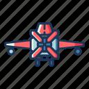 aircraft, airplane, plane, transportation, vehicle