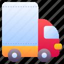 truck, mover, transportation, cargo