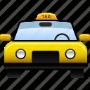 cab, car, public, service, taxi, transportation icon
