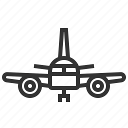 airplane, automobile, car, delivery, traffic, transportation, travel icon